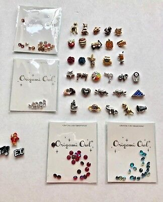 Origami Owl Charms-2018 Fall Winter Collection Free Shipping Buy 4+ Save $2 (Winter Owl)