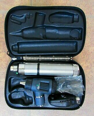 Welch Allyn 97250-m Diagnostic Set Macroview Otoscope Coaxial Opthalmoscope