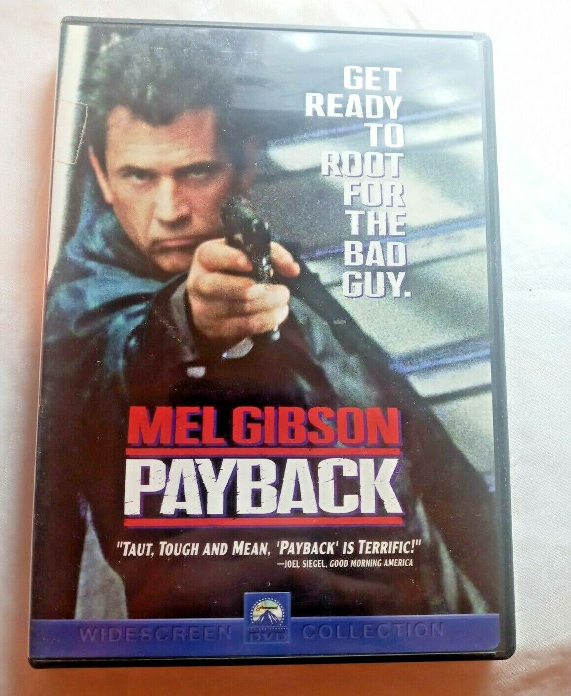 Payback DVD Widescreen 1999 Mel Gibson Complete With Insert - $9.99
