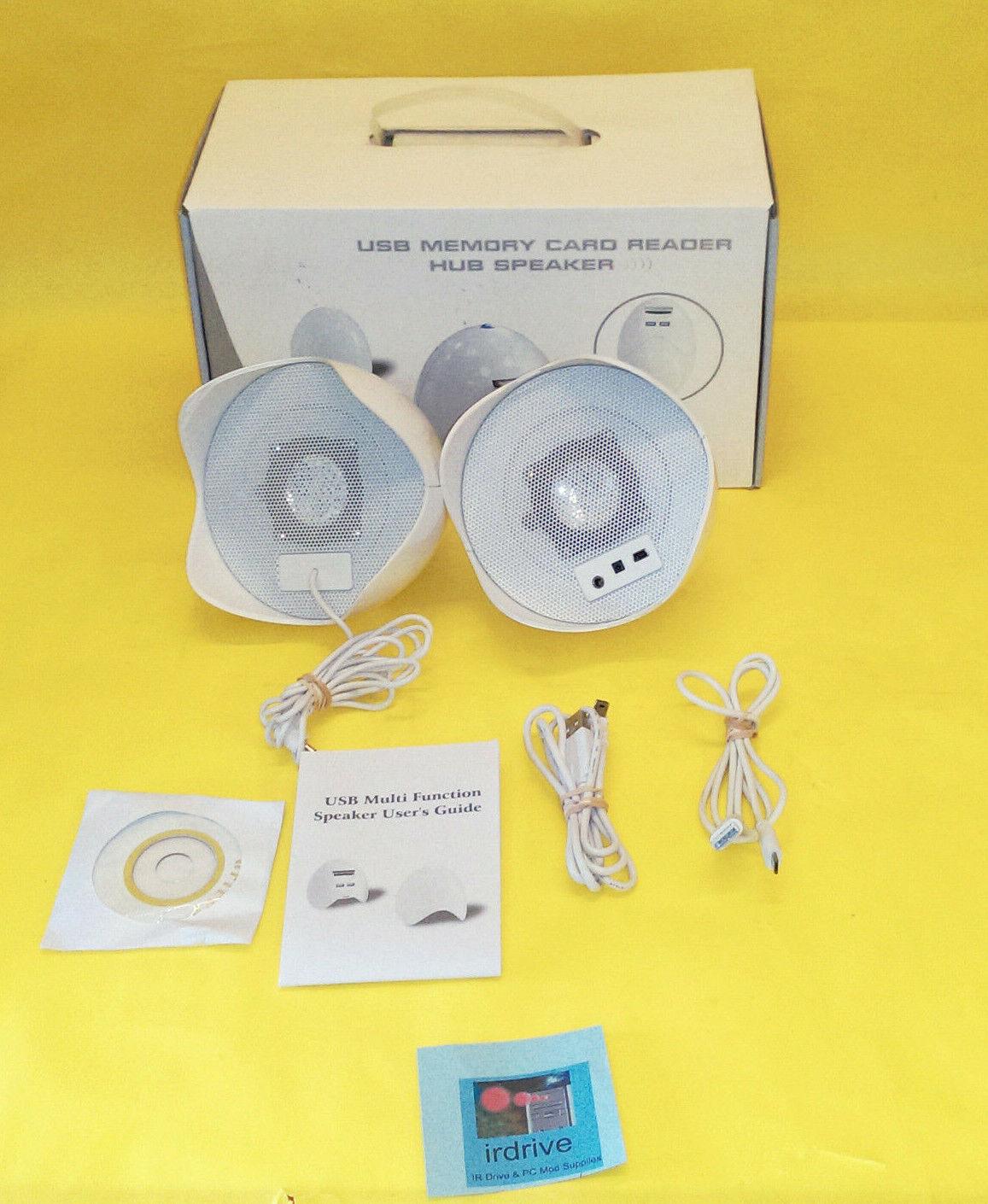 Egg-Shape USB Speakers/2.0 Hub/Memory Card Reader: Notebook,
