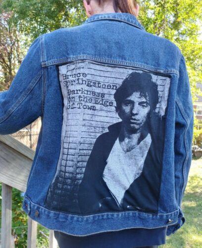 Boss Bruce Springsteen Denim Jean Jacket SCHMIDT Brand XL