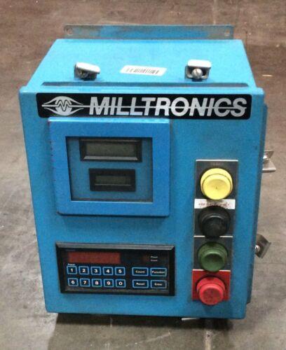 Milltronics Digital Control Panel W/ Durant 5882 Digit Controller Totalizer