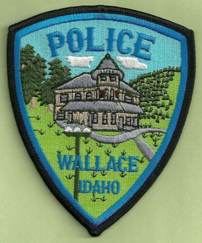 WALLACE IDAHO POLICE SHOULDER PATCH
