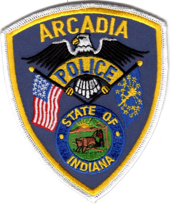 Arcadia Police Indiana patch