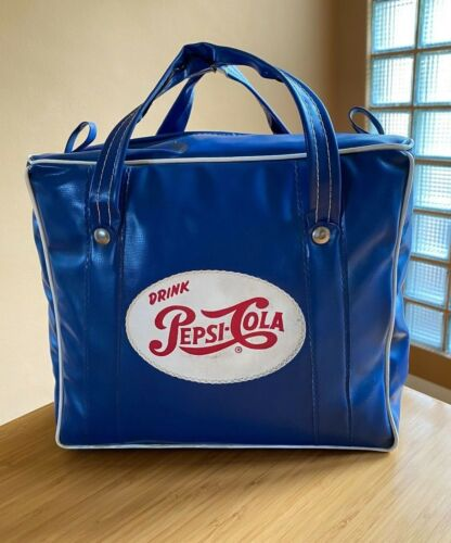 Vintage Pepsi Cola Insulated Lunch Bag
