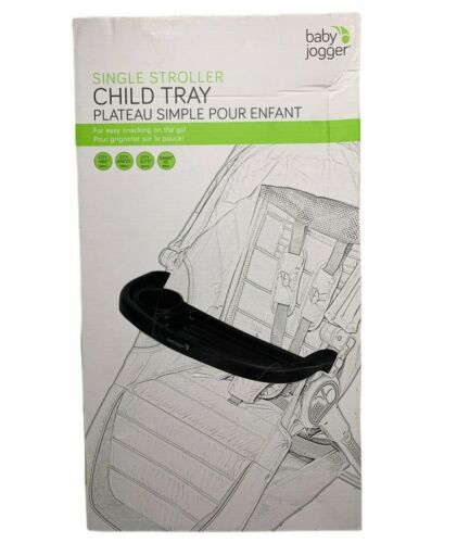 Baby Jogger Single Stroller Child Tray Cup Holder Black