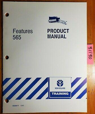 New Holland 565 Baler Training Product Manual 86560417 1297