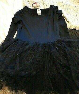 Black Cat Leotard (Spirit Black Cat Women Costume Leotard Tutu Nose Whiskers Small Medium)