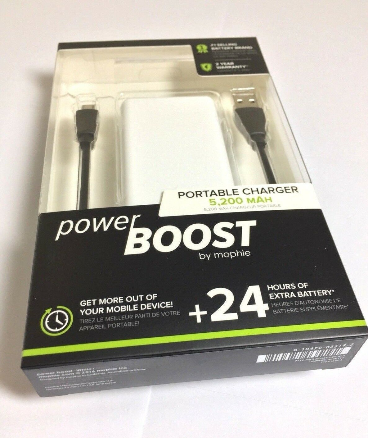mophie Powerstation External Battery for Smartphones Tablets