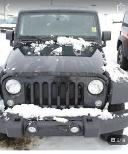 Jeep Willys 2017 automatic almost new 46999 +tax