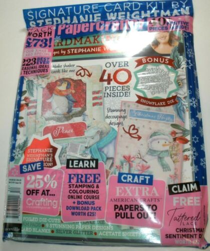 PaperCrafter Issue 152 Magazine Signature card kit Sealed