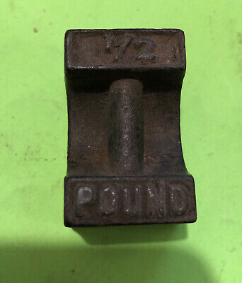 Vintage Antique Calibration Scale Weight 50 lb.