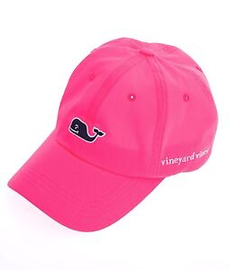 Vineyard Vines Hat / Cap Whale Logo NEW!  Neon Pink