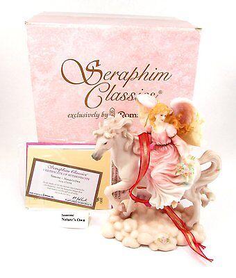 "Seraphim Angel 8"" ~ Simone Nature's Own ~ with CoA & Box #78084 - Horse"