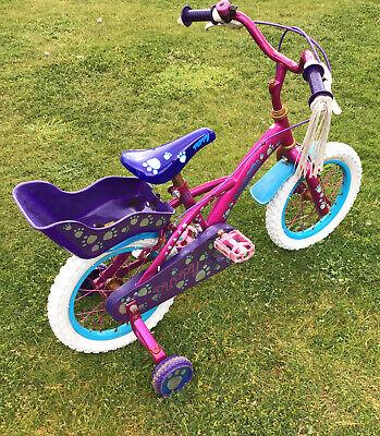14 Inch Puppy Kids Bike Requires Tlc