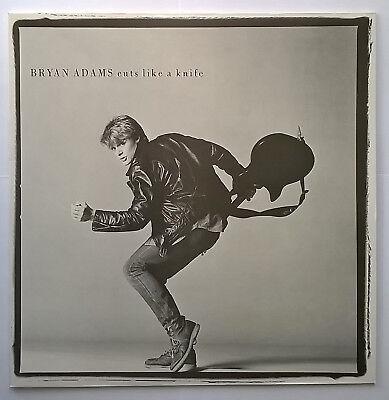 Bryan Adams - Cuts Like A Knife (1983) (Reissue)(A&M Records 394 919-1) VINYL LP
