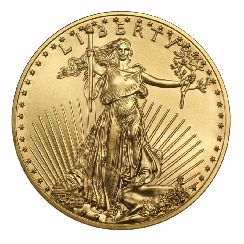 1 oz Gold American Eagle | Random Date US Mint Coin