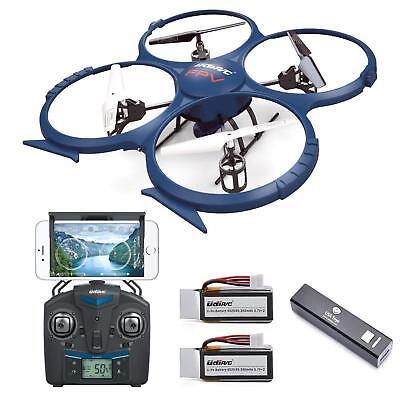 Force1 Udi U818A Drone with Camera Live Video Wifi Fpv and Return Home Altitude