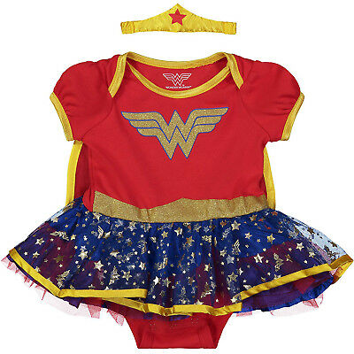 Wonder Woman Infant Baby Girls' Costume Bodysuit Dress - Wonder Woman Baby Kostüme