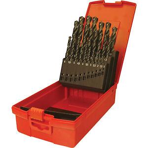 Dormer A190 No 204 25 Piece HSS Jobber Drill Bit Set 1 - 13mm