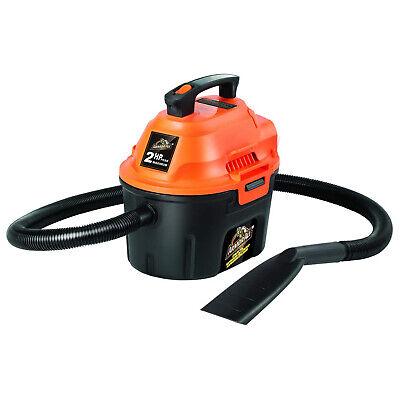 Armor All AA255 Utility Wet & Dry Vacuum, 2 HP, 2.5 Gallon Capacity