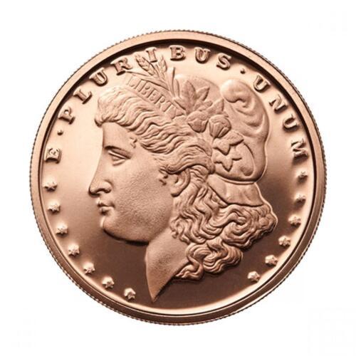 1 oz Copper Round - Morgan Dollar