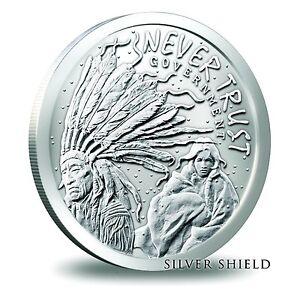 Silver shield .999 silver coins/rounds Edmonton Edmonton Area image 5