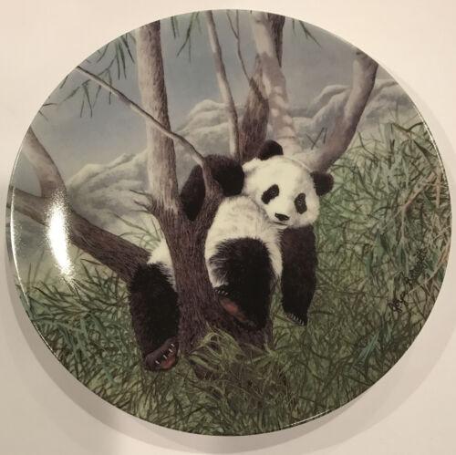 MIB Secret World Of The Panda A Lazy Afternoon Collectors Plate Bradford COA - $14.99