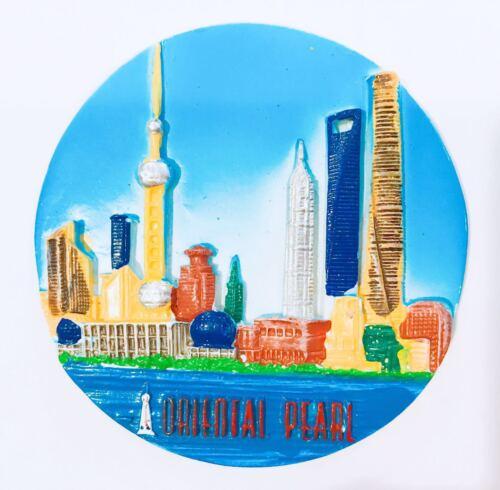 Shanghai Bund Oriental Pearl Refrigerator 3D Magnet China (Brand New)