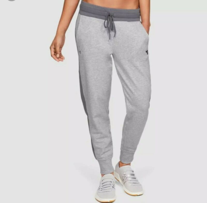 Rare Under Armour Womens X Project Rock  Joggers  Size XL 1332576-035