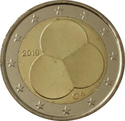 2 Euro Finnland 2019 bfr unc 100 Jahre Finnische Verfassung RAR