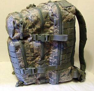 Military-US-Air-Force-ABU-3Day-Molle-Tactical-Assault-Backpack-SWAT-Navy-Med-New