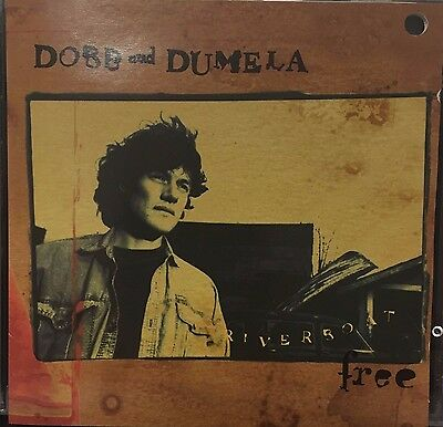 DOBB AND DUMELA - RIVERBOAT FREE - 10 TRACK MUSIC CD - LIKE NEW - G549