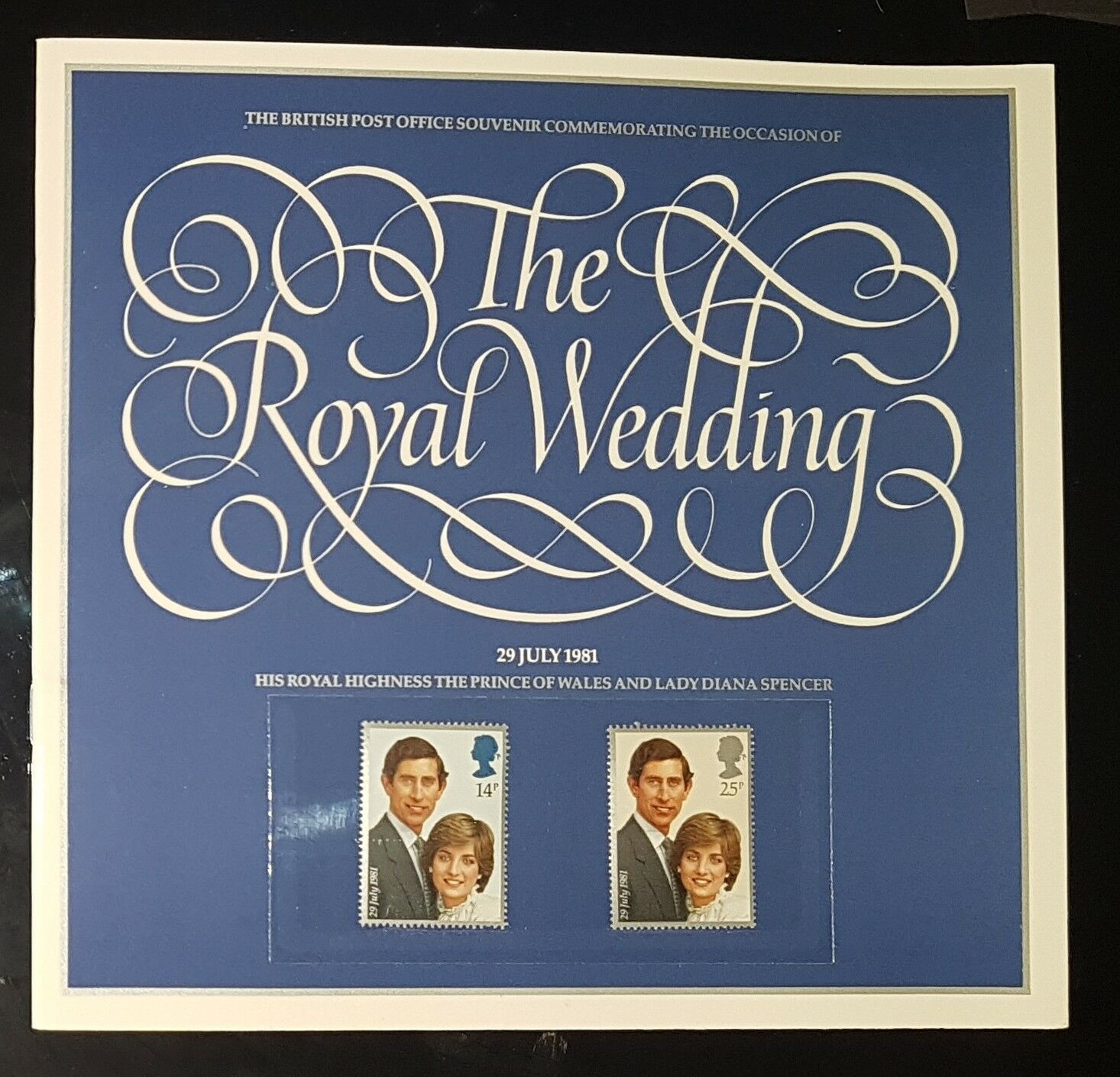 THE ROYAL WEDDING 29 JULY 1981 POST OFFICE SOUVENIR BOOKLET (NoL326)*