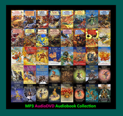 The Complete DISCWORLD Series By Terry Pratchett (41 MP3 Audiobook Collection)