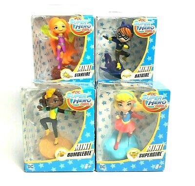 DC Superhero Girls Minifigures - Lot of 4 - Bumblebee Supergirl Batgirl Starfire](Bumblebee Superhero)