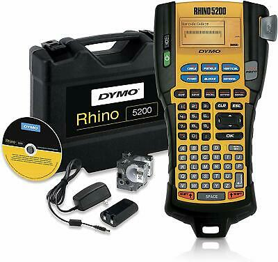 Dymo Industrial Label Maker Carry Case Rhinopro 5200 Label Maker For Job Si