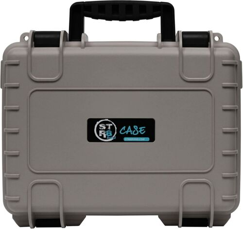 """STR8 13"""" Carrying Case for Multi-Purpose with Pluck Foam - (Wolf Grey)"""