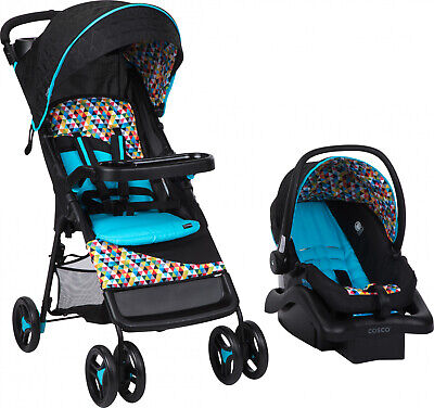 Baby Stroller with Car Seat Infant Comfort Walker Travel System Deluxe Seat Pad