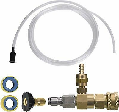 M Mingle Adjustable Chemical Injector Kit For Pressure Washer Soap Injec... New