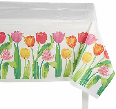 Spring Birthday Themes (Bright Tulips Spring Floral Flower Garden Theme Party Decoration)