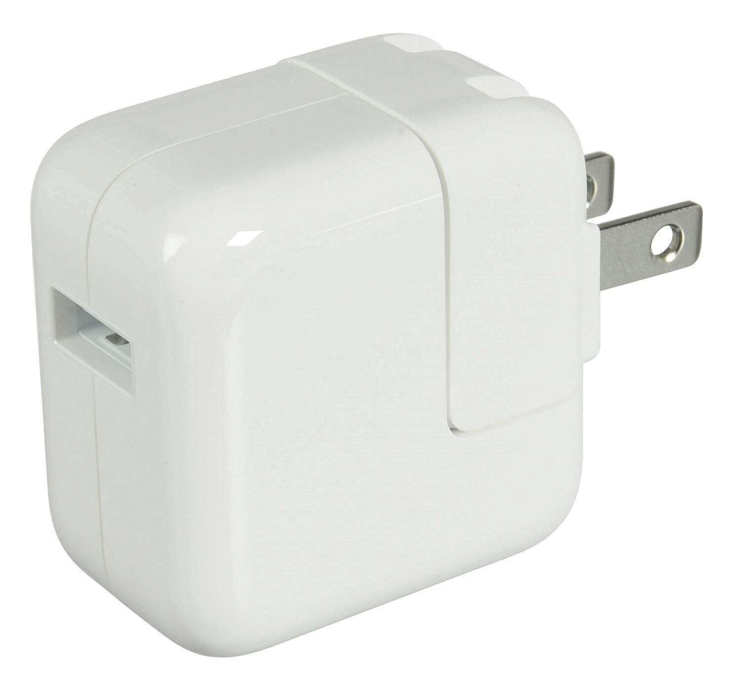 Original 12W - 10W USB Power Adapter Wall Charger for Apple