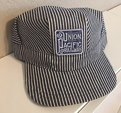Adult Conductor Hat (Engineer/Conductor Cap /Hat -UNION PACIFIC RY- adjustable -Adult or Child-NEW)