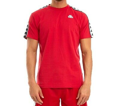 T-shirt 222 Banda Coen Authentic Kappa Red Men NEW WITH TAGS