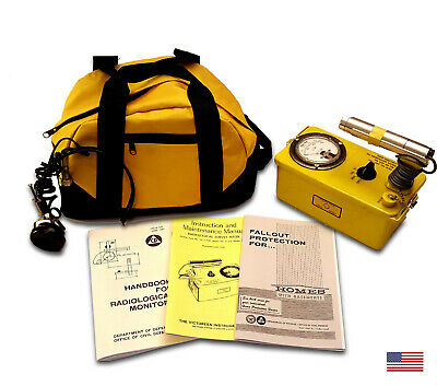 Victoreen 6a Radiation Detector Cdv-700 Geiger Counter-refurb Calibrat-life Warr