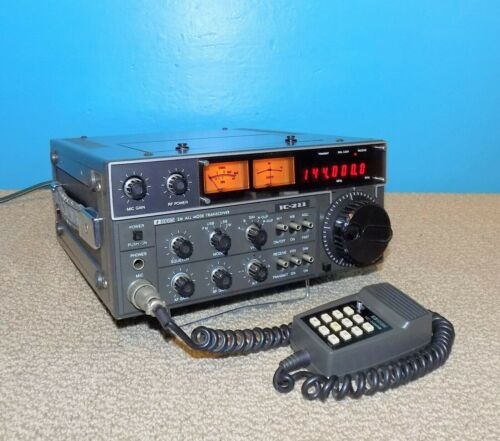 Icom IC-211 2m All Mode Transceiver Good Condition Free Shipping