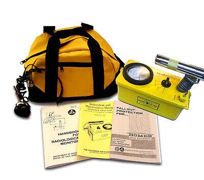 Rebuilt-calibrated Eni 6b Radiation Detector Cdv-700 Geiger Counter-life Warrant
