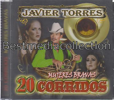 Javier Torres Cd Mujeres Bravas Corridos Album Con 20 Canciones