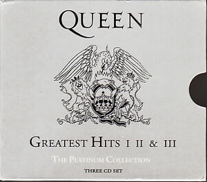 Queen-Platinum-Collection-3CD-Boxset-Greatest-Hits-I-II-III-FASTPOST