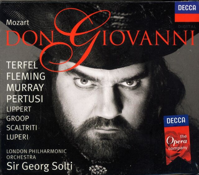 Mozart Don Giovanni box CD NEW Terfel Fleming Murray Pertusi Georg Solti
